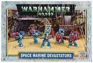 SPACE MARINE - DEVASTATORS - WARHAMMER 40K - sealed