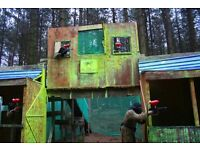 Force 10 Paintballing for 8 people Voucher (Worth Over £200) Only £50