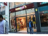 CLOTHES SHOP IN EAST SHOPPING CENTRE ON MAIN GREEN STREET – LEASE FOR SALE E7