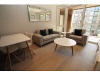 BRAND NEW 1 BED 1 BATH LUXURY 2nd flr DESIGNER FURNISHED, Chelsea Creek, Lockside House, Chelsea SW6
