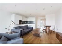 AMAZING 2 BED 2 BATH, 2 BALCONIES WOOD FLOOR, NEAR DLR IN Turnberry Quay Waterford Court London E14