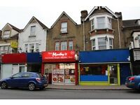 SHOP WITH A3 PERMISSION WITH FIRST FLOOR TWO BEDROOM FLAT FREEHOLD FOR SALE IN E17