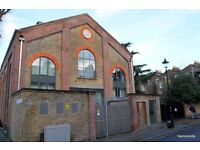 1 Bed Factory Conversion - Available 13 April - Between Bow Church an Bow Road - 0782 521 44 88