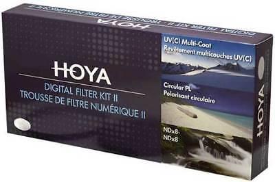 Hoya Digital Filter Kit II 67mm Polfilter + ND-Filter + UV-Filter + Filtertasche (Hoya Polfilter Filter)
