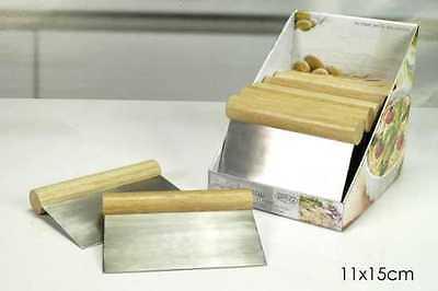 Spatola tagliapasta taglia pasta focaccia pizza manico in legno 11 X 15 cm Rotex