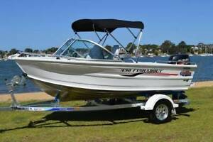 2016 Quintrex 430 almost new boat