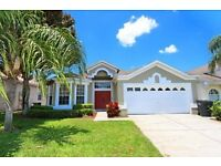 FLORIDA VILLA : THREE BED AND FOUR BED POOLSPA/GAMES ROOM VILLA OCTOBER OR CHRISTMAS SCHOOL HOLIDAYS