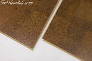 Brown Leather Floating Cork floor on Sale Now!!