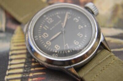Waltham Military WW2 Navy Pilots watch, ca. 1942, Authentic, issued '42, nice