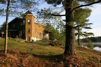 Lakefront Chalet ideal for large or multi family rental