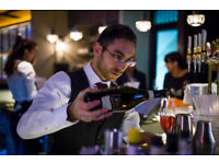 ENTHUSIASTIC FULL-TIME COCKTAIL BAR TENDER FOR WRIGHT BROTHERS SOUTH KEN