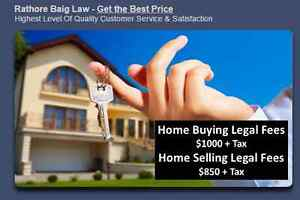 Real Estate Lawyers BUY Or Sell Your Home Stress Free*