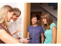 Host Families Required For Short Stay Students - Up to £280+ PW. Welling, Eltham & Surrounding areas