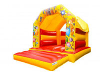 Bouncy castle and face painting hire available for children party
