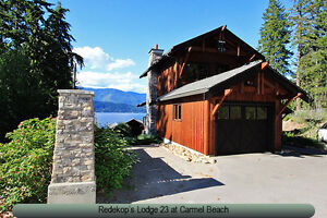 Shuswap Lake Vacation Rental-Carmel Beach Lodge 23 in Blind Bay