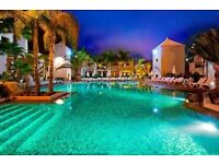 All inclusive 14 night holiday in 4.5* resort Tenerife.