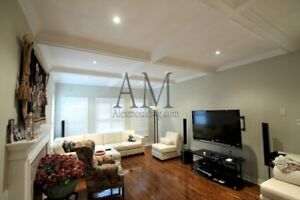 Coffered Ceiling Installation in Toronto