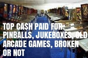 PINBALL MACHINE ARCADE GAME$ WORKING OR NOT TOP CA$H