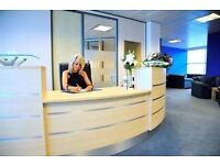 Stylish modern building offers comprehensive range of serviced offices available on flexible terms