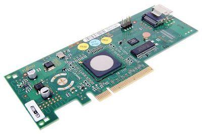 LSI SAS / S-ATA RAID PCIe 4-Port Controller // D2507-D11 // ohne Slotblech
