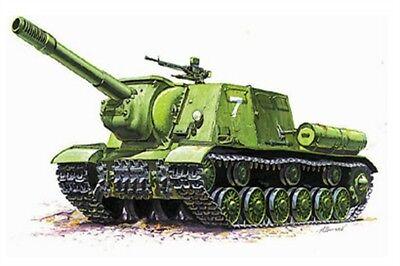 Zvezda 3532 - 1/35 WWII Russischer Panzerjäger Isu-152 - Neu