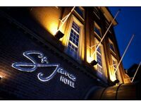 Operations Manager needed for 4 star boutique hotel in Nottingham city centre (St James Hotel)