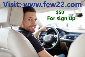 Need a driver. $50 free sign up