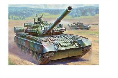 Zvezda 3592 - 1/35 Russischer Kampfpanzer T-80Bv Mit Era - Neu