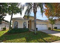 Luxury 4 Bed Pool/Spa/Games Room Villa Gated Windsor Palms Resort Disney Florida has Shuttle Service