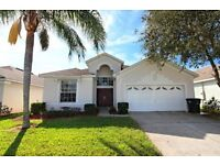 BEAUTIFUL THREE BED POOL VILLA WITH SPA AND GAMES ROOM ON RESORT BY DISNEY AND UNIVERSAL IN FLORIDA