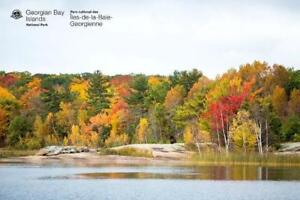 Come see the Fall Colours on Georgian Bay