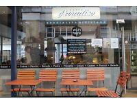 URGENT - Tower Hill / Caffee Paradiso - Waiter/Waitress- Barista - Full Time