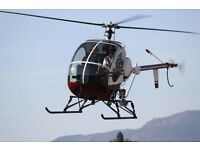 Helicopter ride for 2 people with champagne