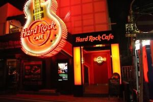 Hard Rock Glasses - Anyone looking for some? 4 boxes