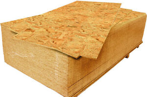 Looking for sheets of OSB preferably (all sizes)