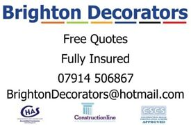 Experienced Painters and Decorators / Handyman /Free Quotes / Fully insured / Portfolio Available