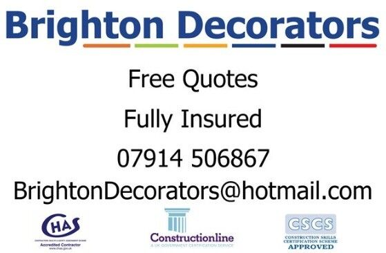 Experienced Painters and Decorators / Handyman /Free Quotes