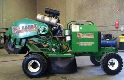 Bandit Stump Grinder 2007 2100SP 100hrs Remote Controled $14,500