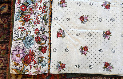 French Collector 'Souleiado' Provencal Custom Made Curtains 6 Panels