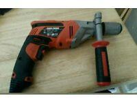 Black and Decker corded drill model number KR 75 3 750 watt 30mm