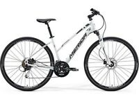 Merida Crossway 100 Ladies Hybrid Bike