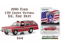 Greenlight  1:64  OVP Fire Dept 1990er Ford LTD Crown Victoria Washington D.C