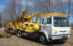 Tree Spade Services and Transplanting Large Trees