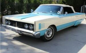 1965 Mercury Parklane two door convertible
