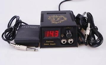 Tattoo Power supply machine dual voeding clipcord footswitch