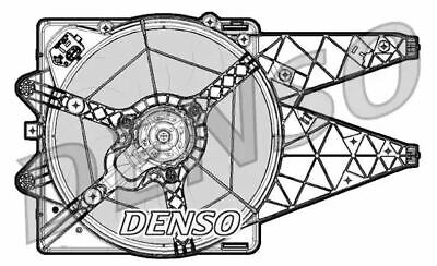 Denso DER09064 Engine Cooling Fan Replaces 51820789