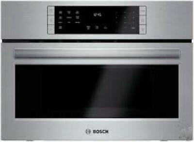 "NIB Bosch 800 Series 27"" 10 Power Levels Stainless Speed Oven HMC87151UC"