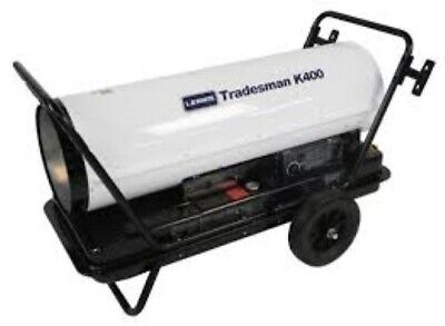 L.b. White Tradesman K400 Heater 400000 Btuh Kerosene 1 Or 2 Fuel Oil