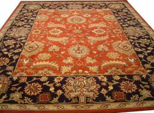 Persian Rug 8x10 Wool Ebay