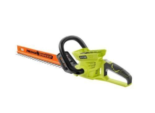 40 Volt Lithium Ion Cordless Hedge Trimmer Battery & Charger